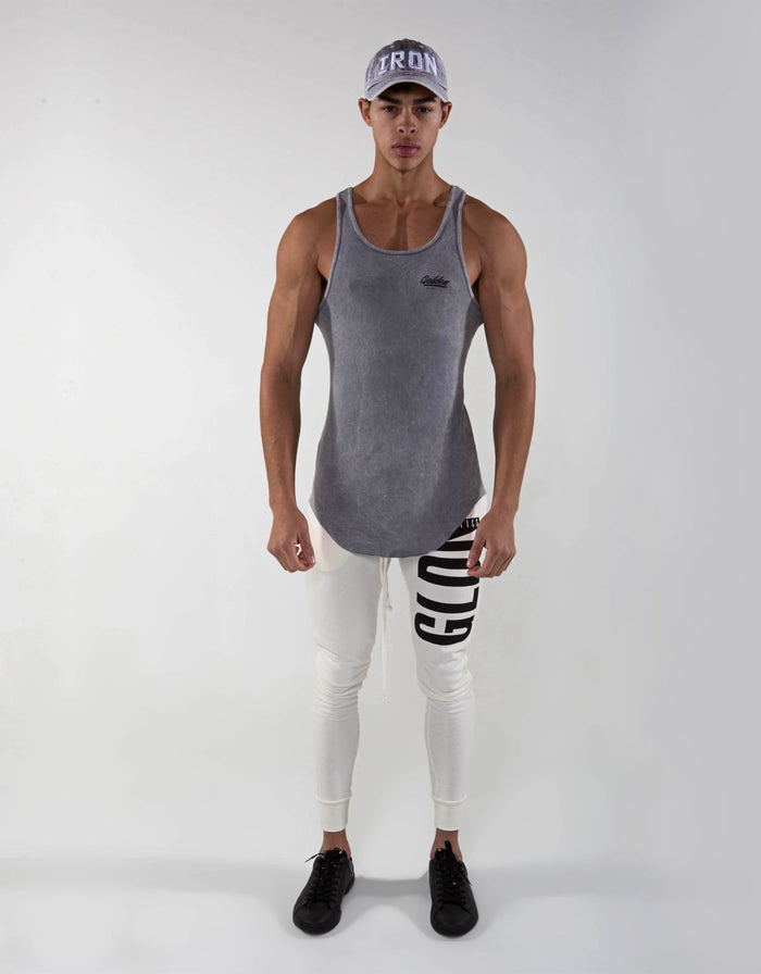 Golden Aesthetics Ribbed Tank - Marl