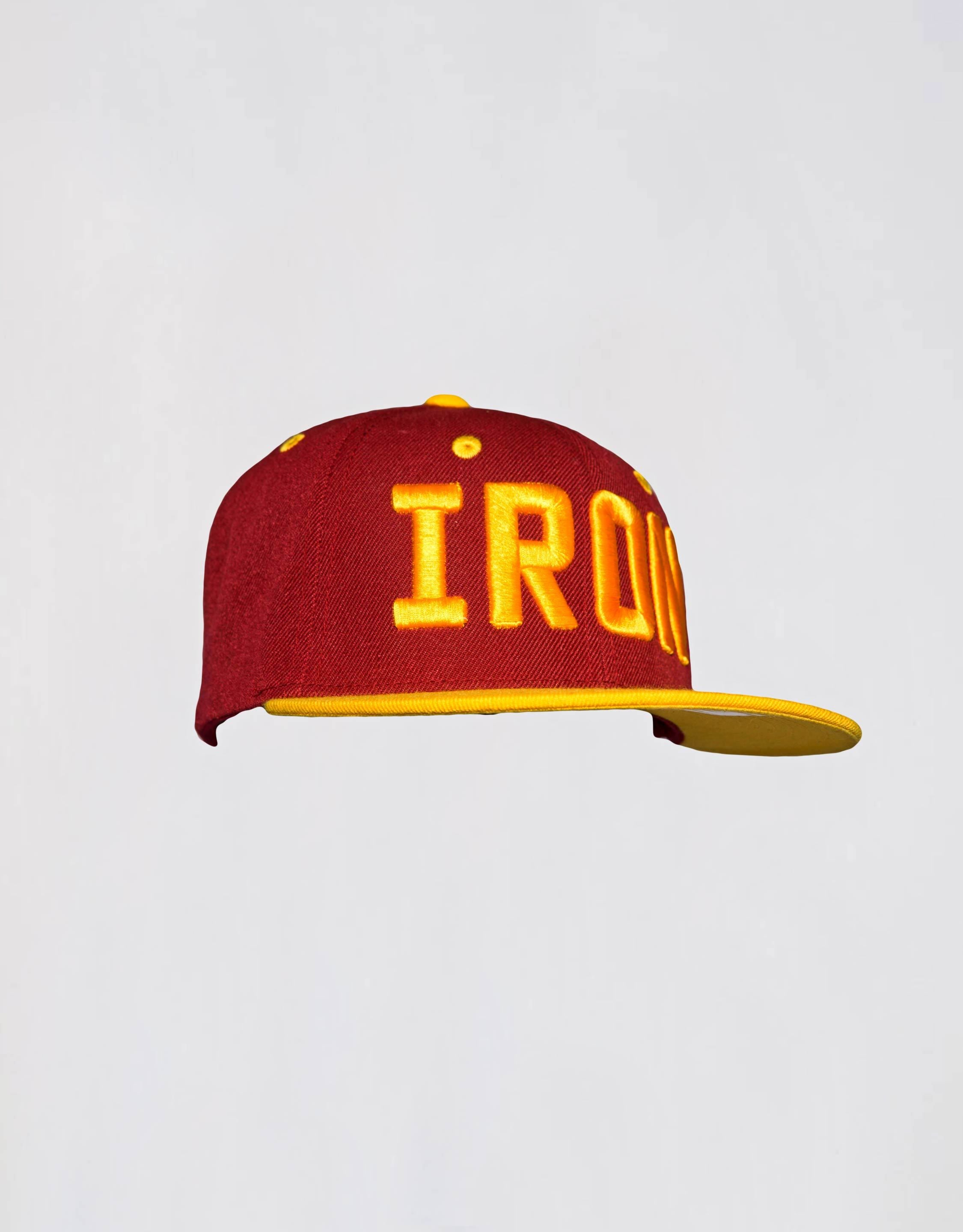 Iron Snapback - Red/yellow - Hat
