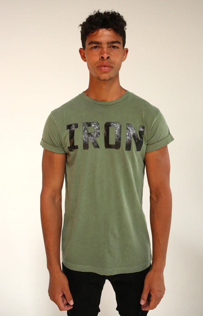 Army Rolled Sleeve T-Shirt