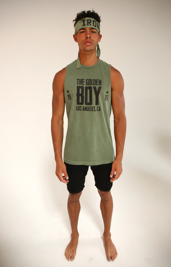 Army Muscle Tank