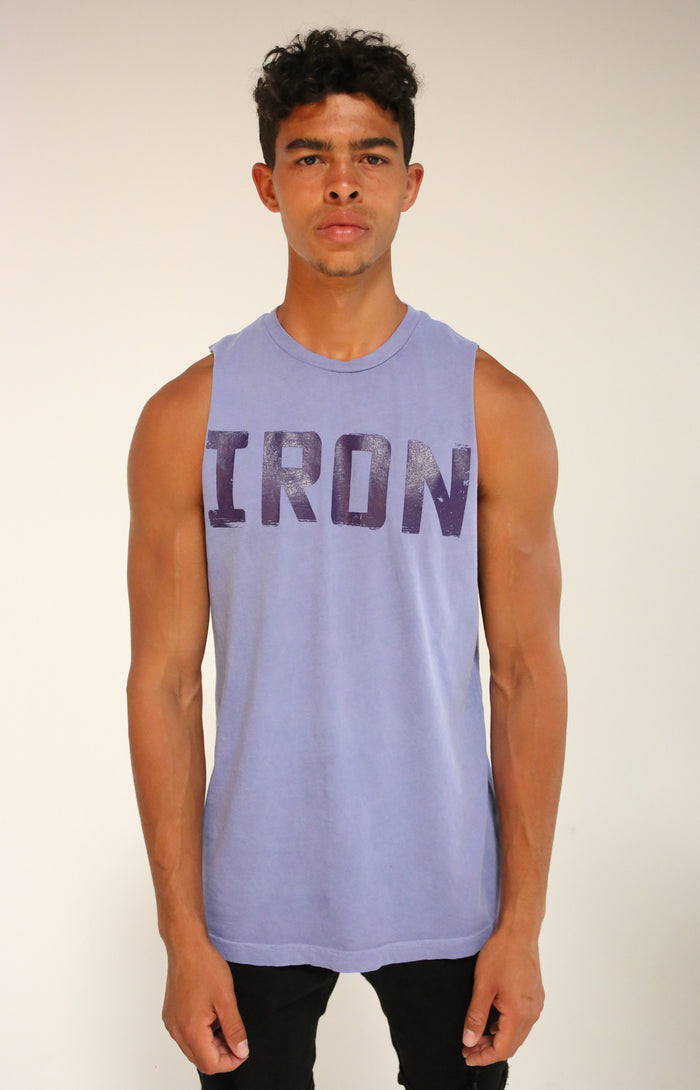 Faded Purple Muscle Tank