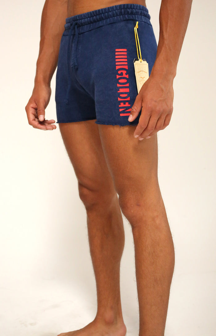 Navy/Red Short CLassic Shorts