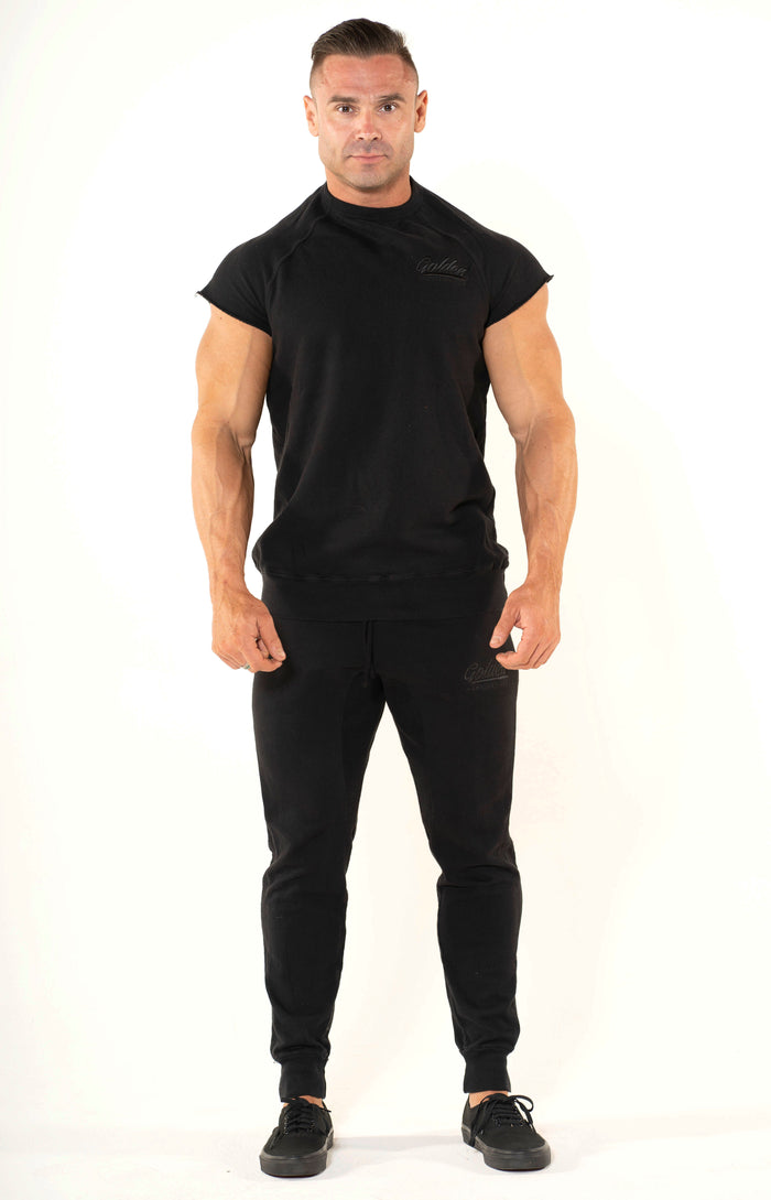 Men's Black Classic Top - Golden Aesthetics