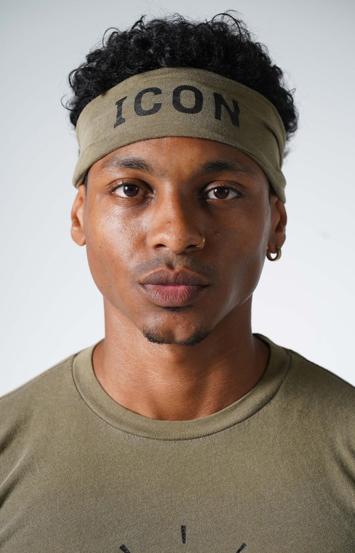 Faded Army Icon Headband