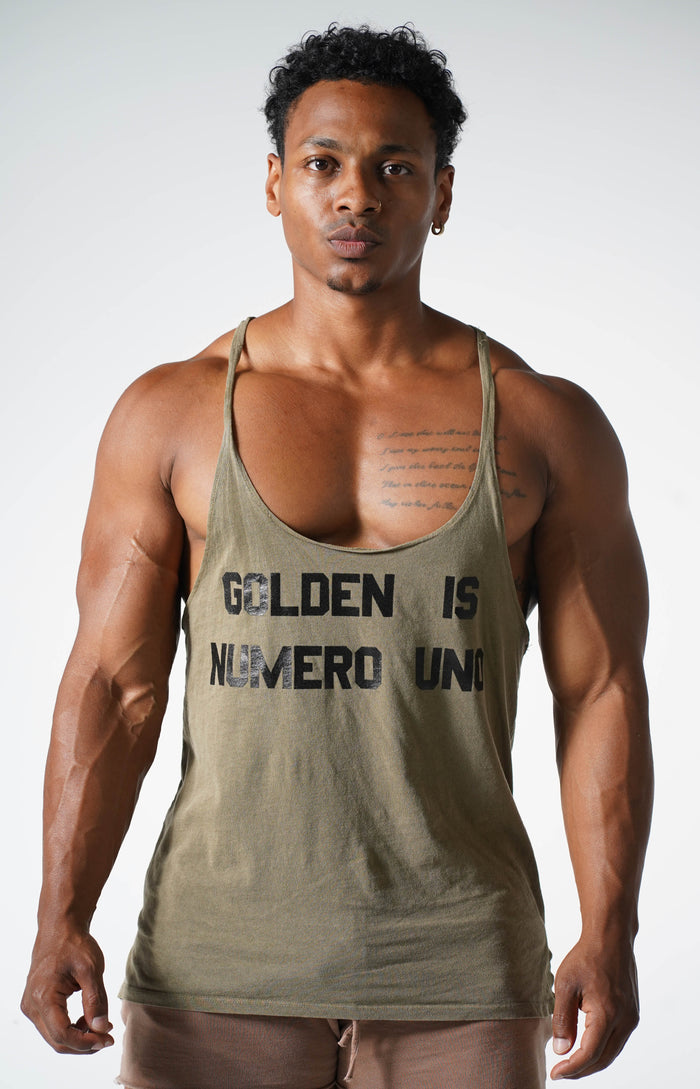 Faded Army Numero Uno Stringer