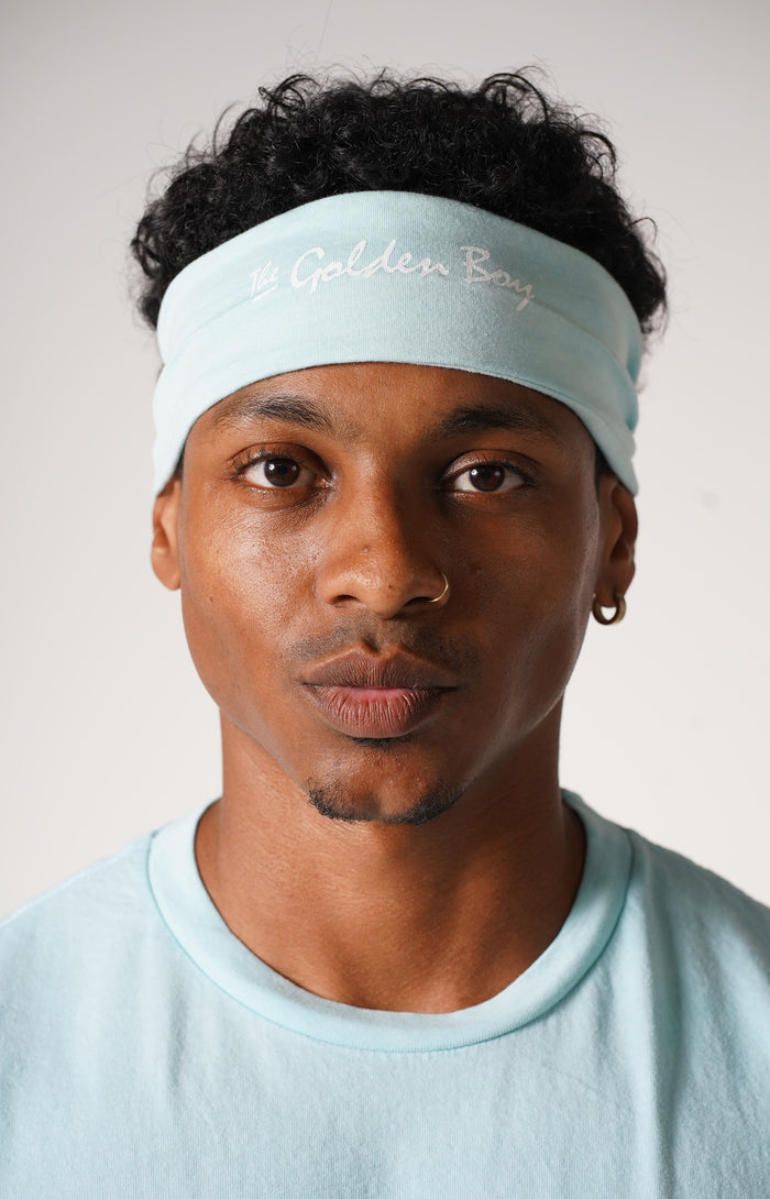 Blue Water The Golden Boy Headband