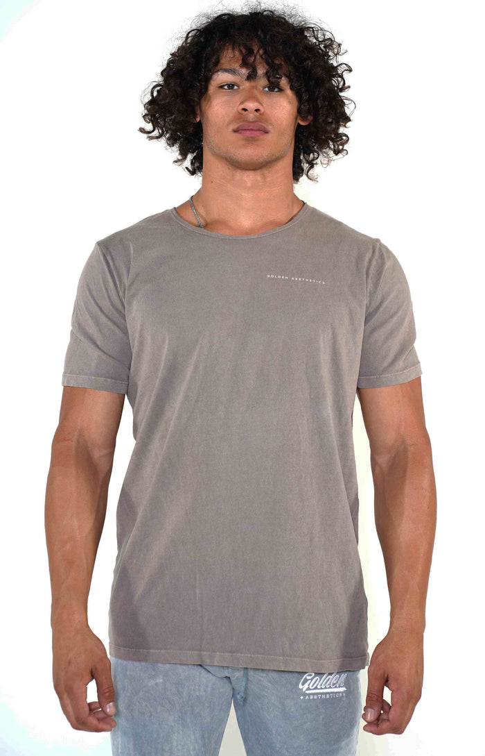 Men's Dust Scoop Neck T-Shirt - Golden Aesthetics