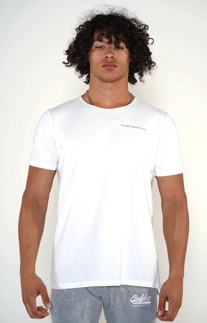 Men's Optic Scoop Neck T-Shirt - Golden Aesthetics