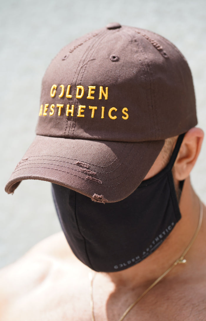 Brown/Golden GA Vintage Hat