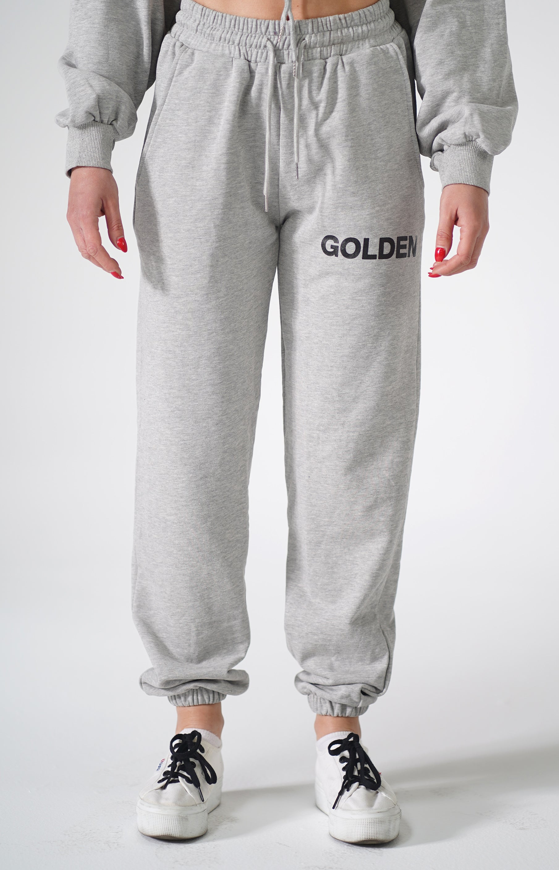 Grey Golden Sweatsuit
