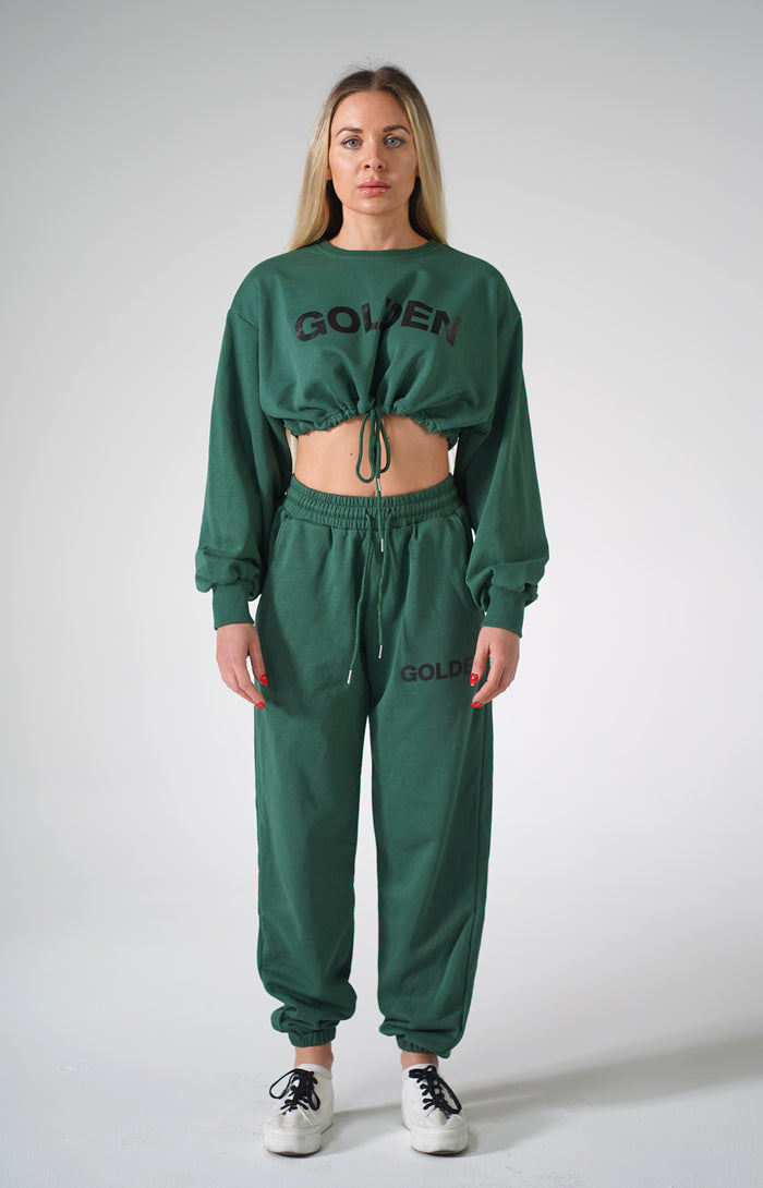 Green Golden Sweatsuit