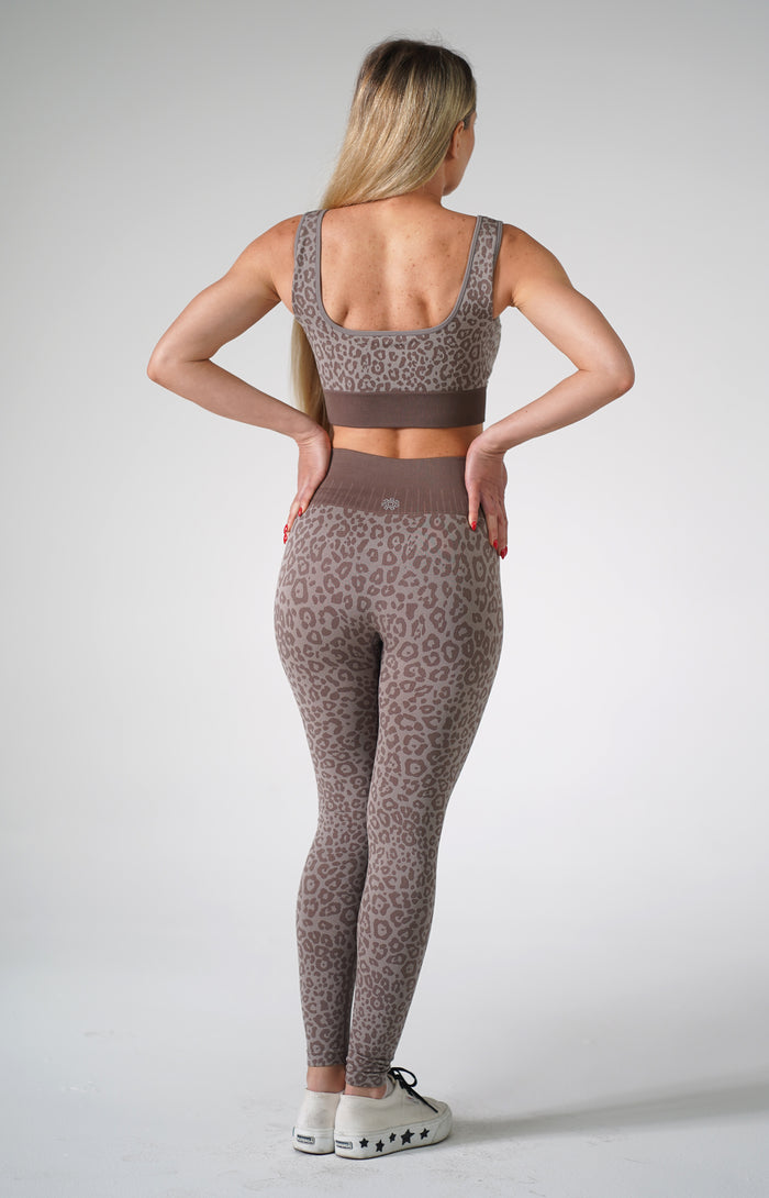 Leopard Grey Set