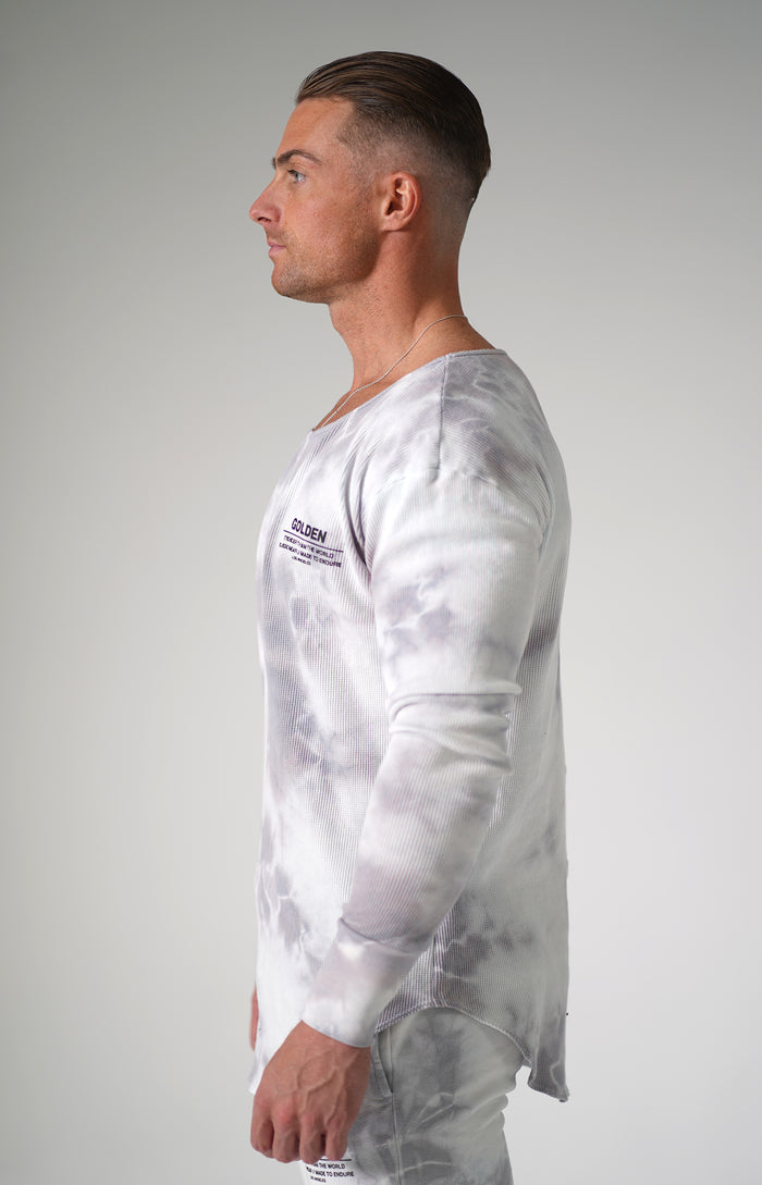 Diamond Tie Dye Golden Thermal