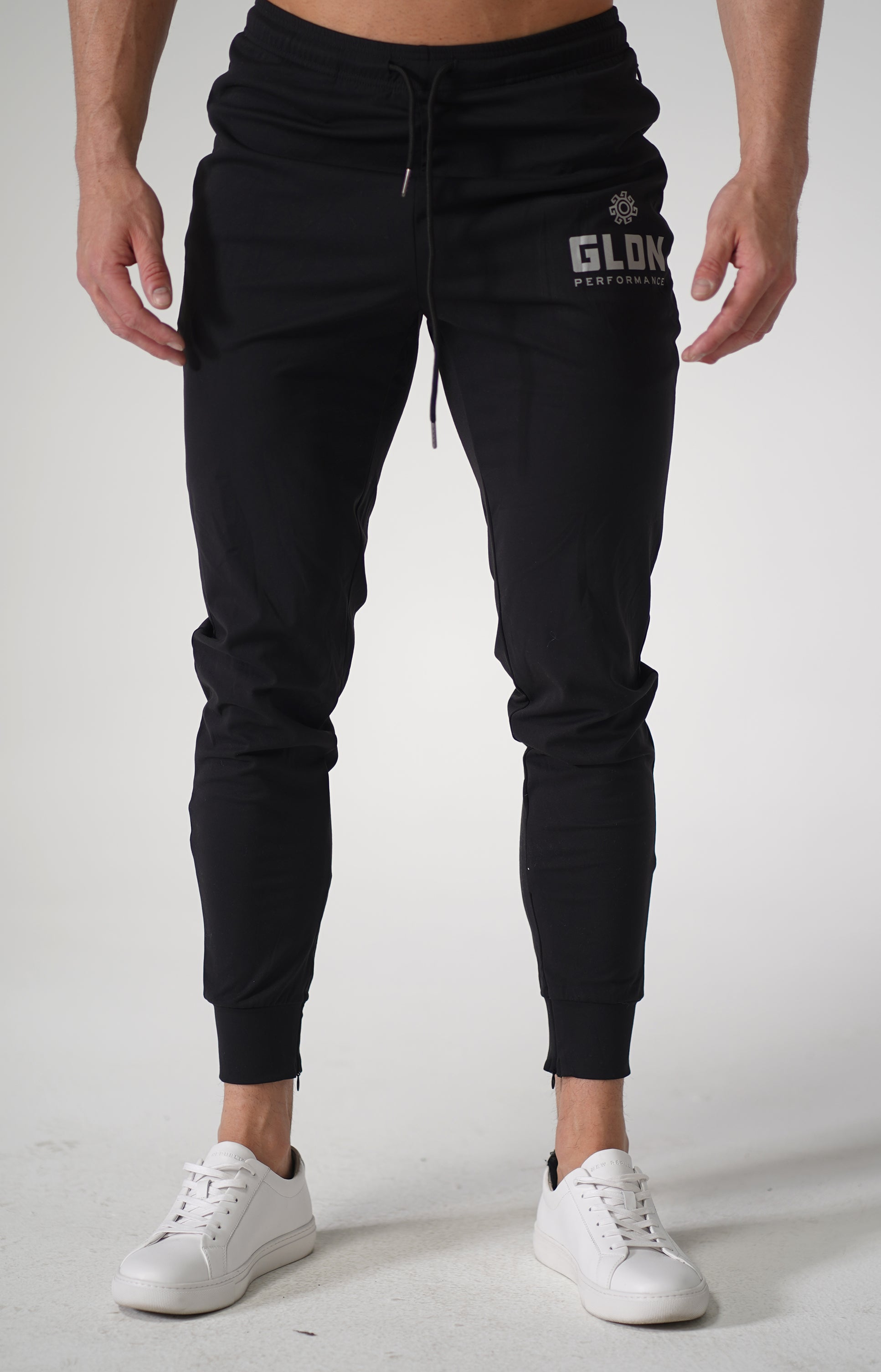 Black GLDN High Performance Track Pants