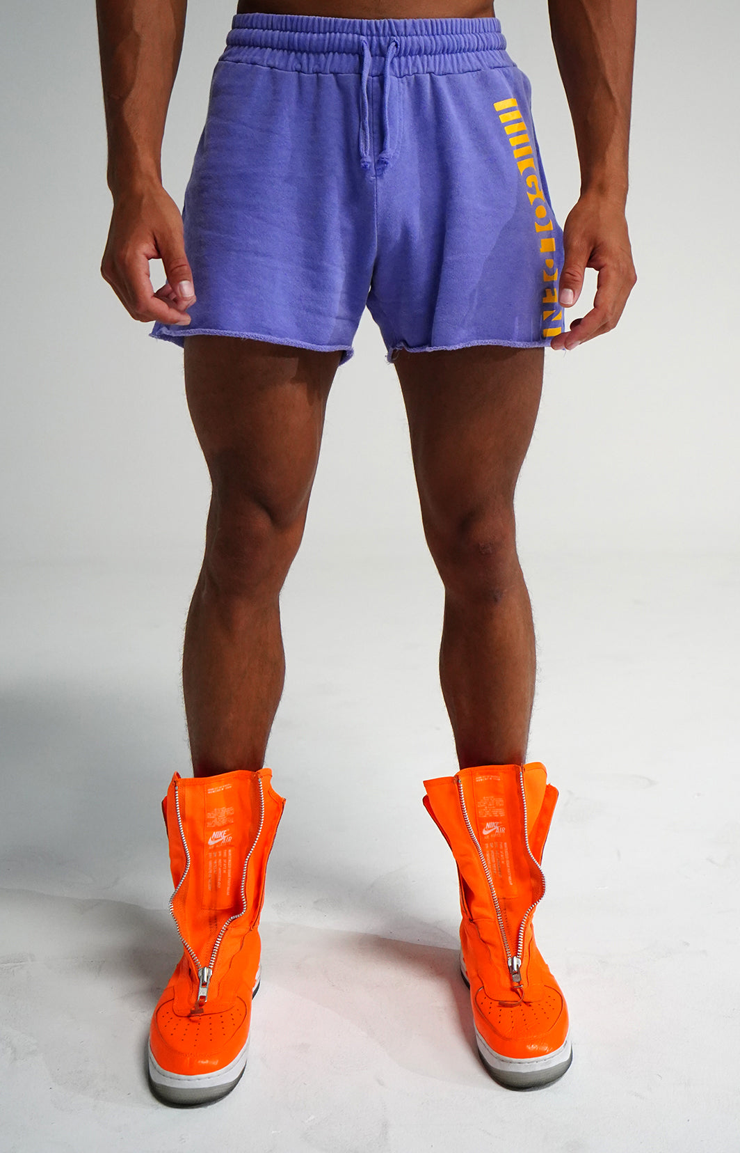 Faded Purple Short Classic Shorts