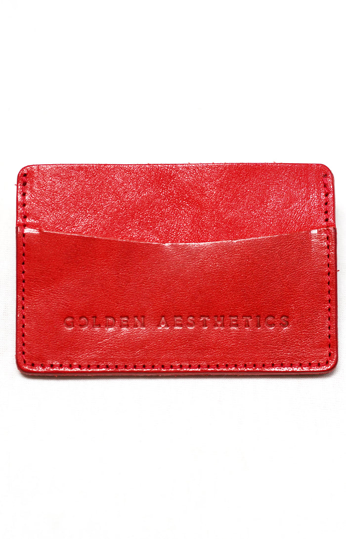 Red Card Holder Wallet