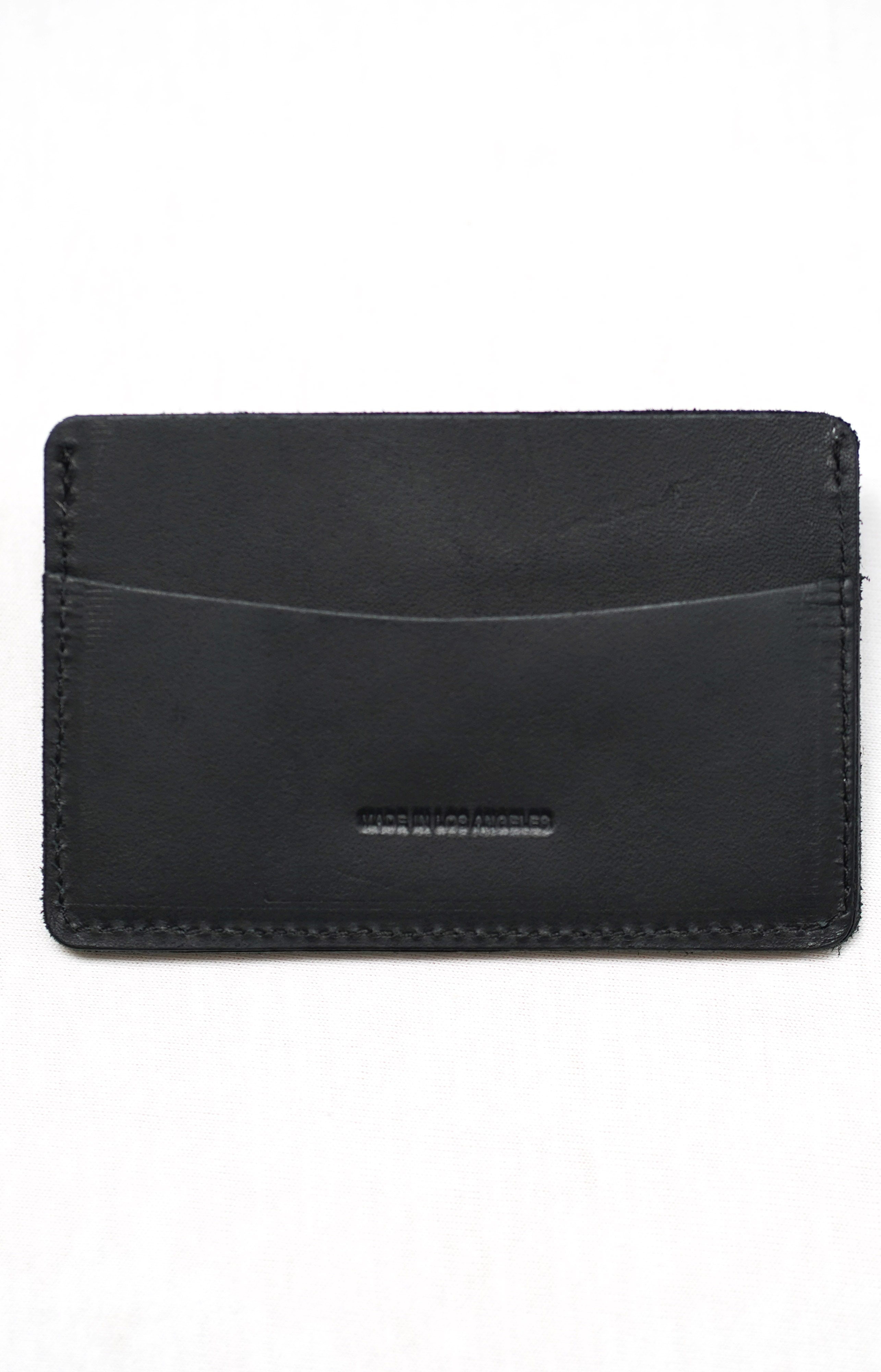 Classic Black Card Holder Wallet