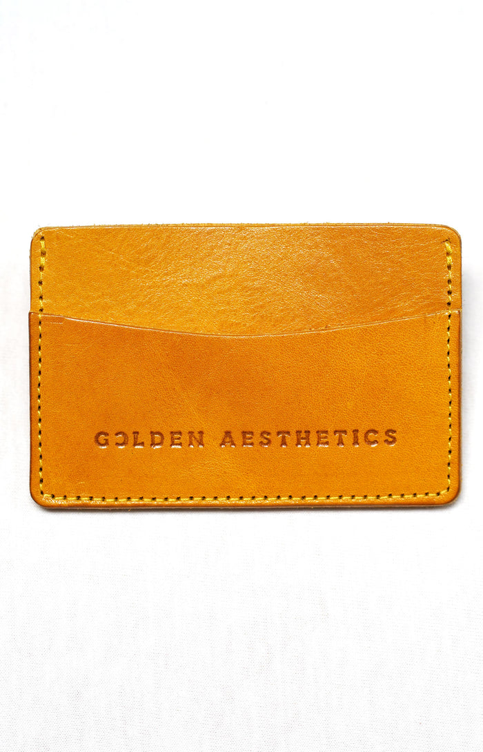 Mustard Card Holder Wallet