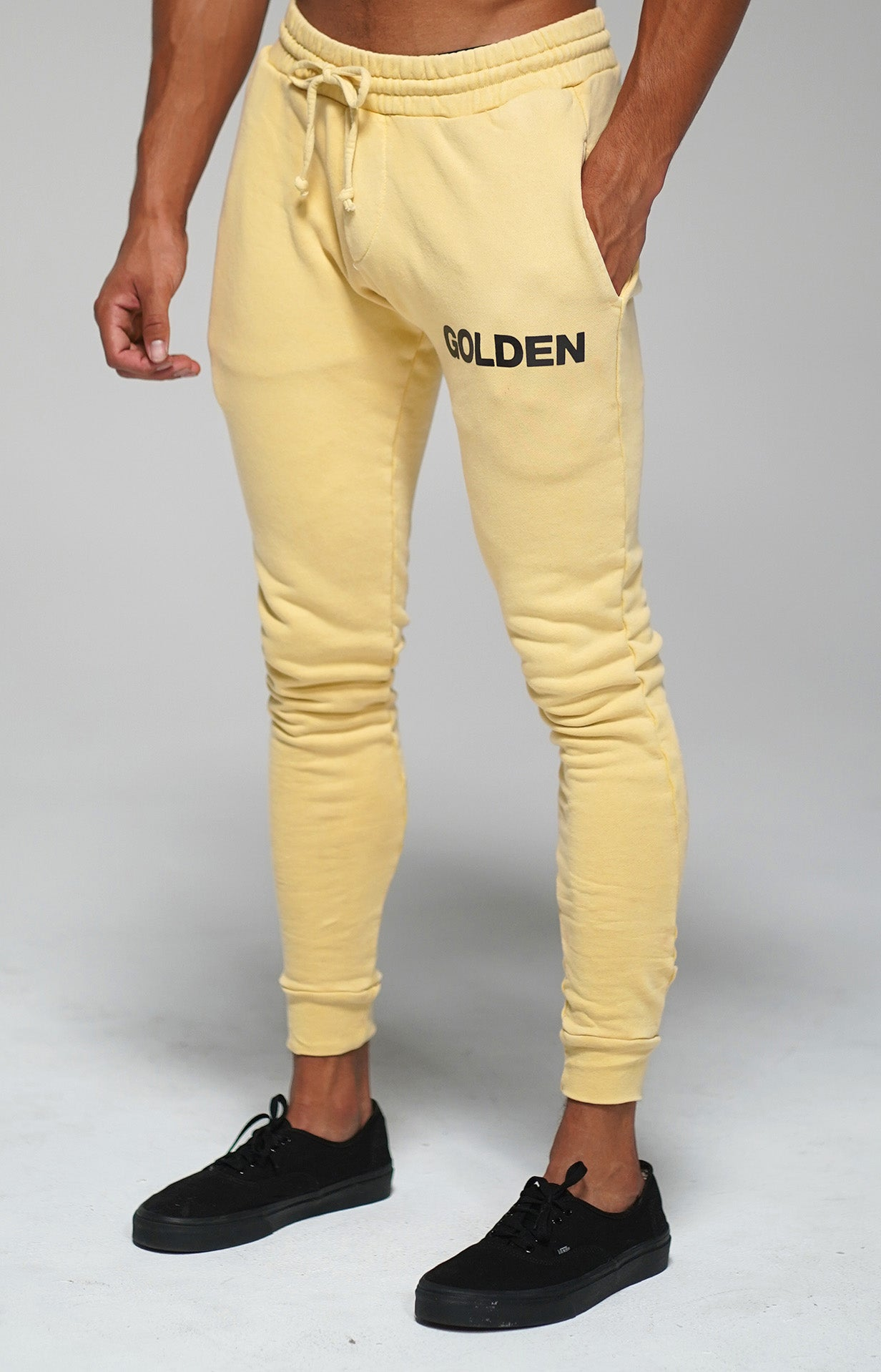 Sea Mist Golden Joggers