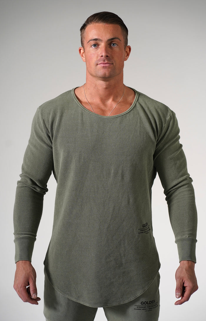 Faded Army Golden Thermal