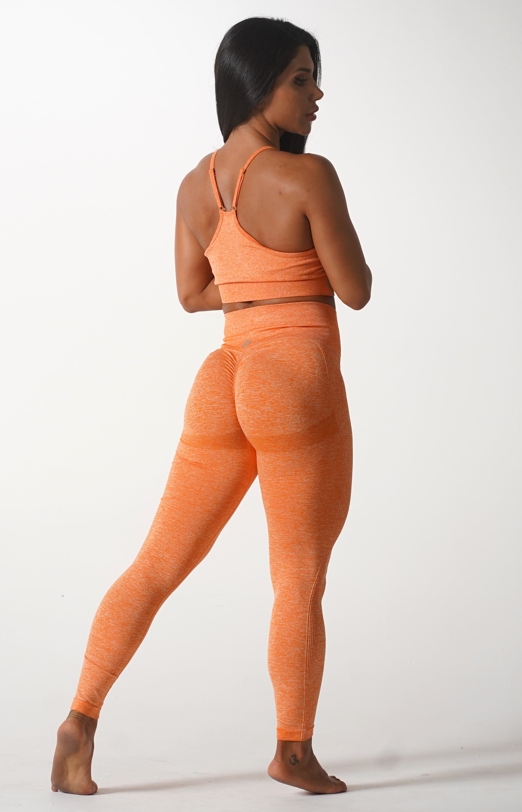 Orange Skin Leggings
