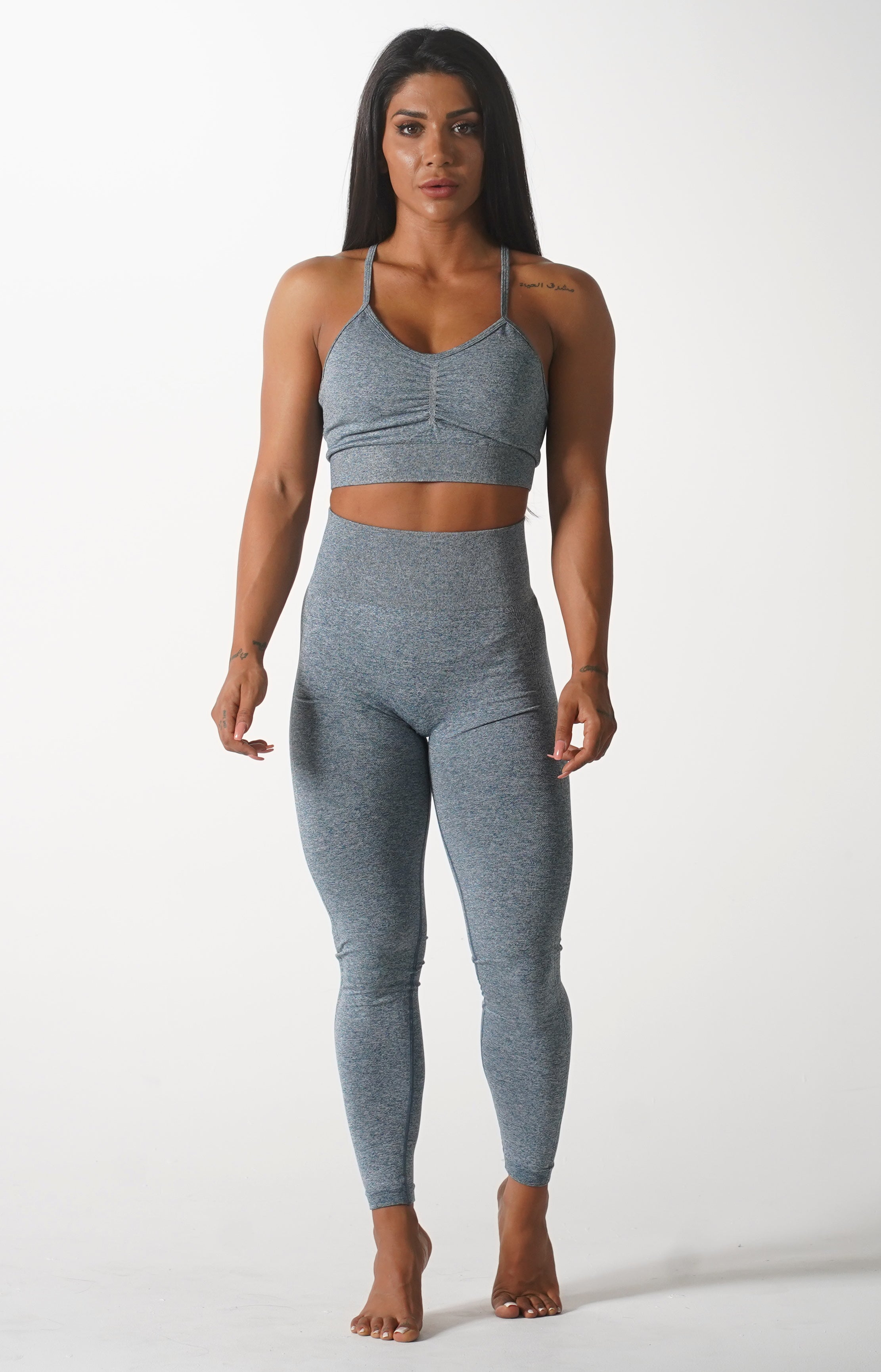 Grey Skin Leggings