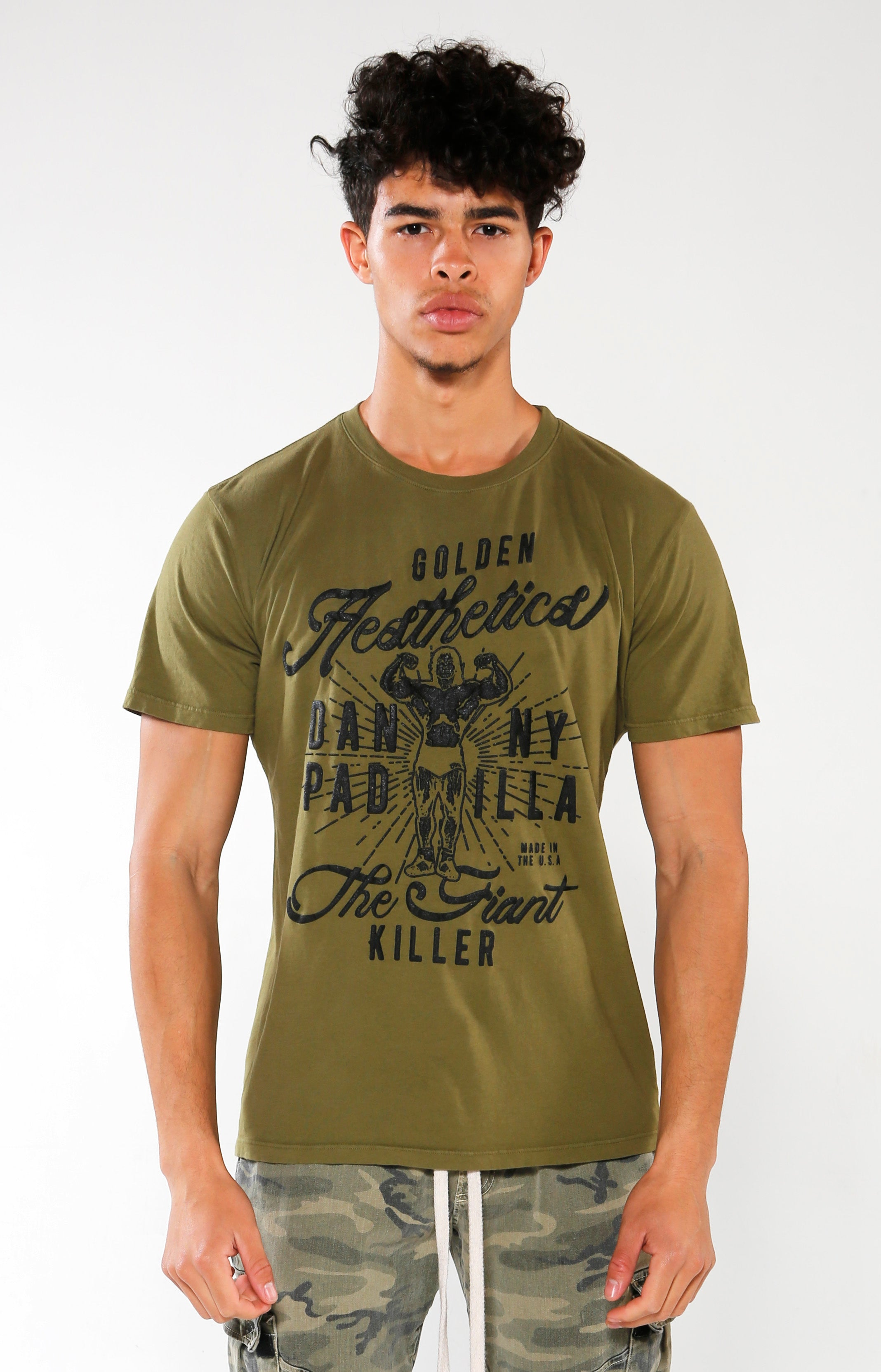 Men's Old School Legends Danny Padilla T-Shirt | Golden Aesthetics - Golden Aesthetics