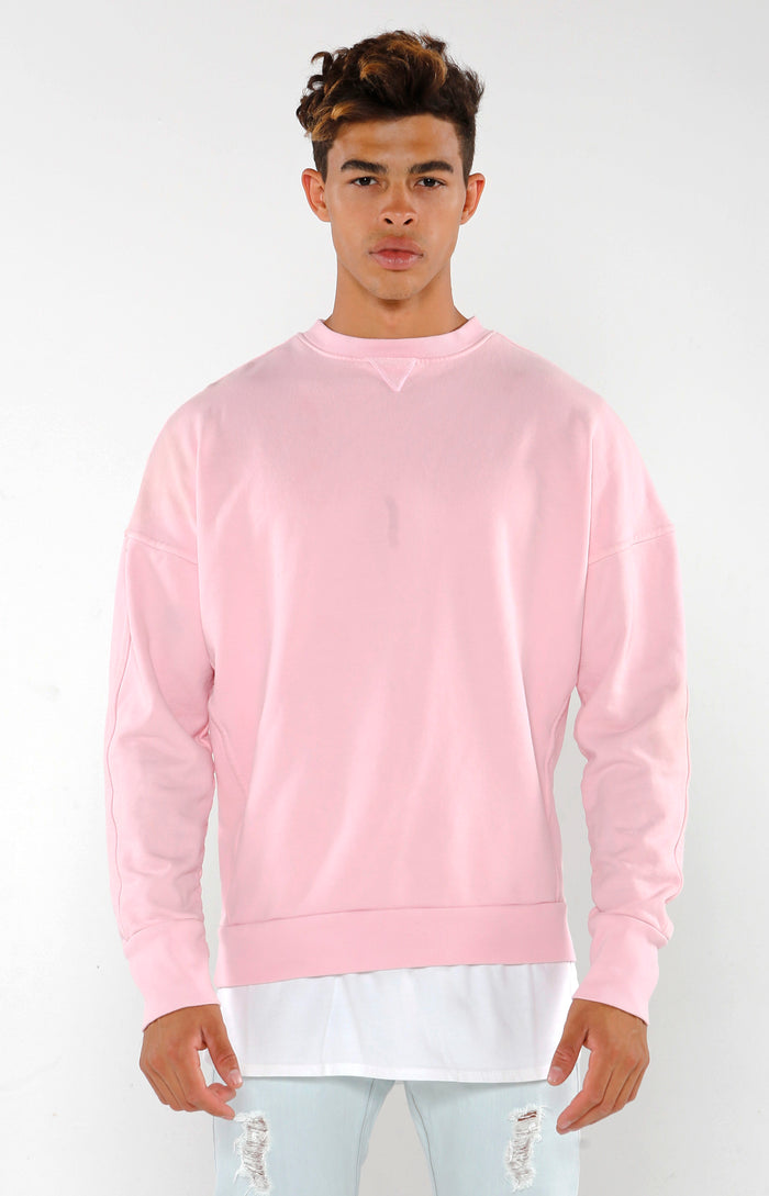 Section Sweater - Mineral Pink - Golden Aesthetics