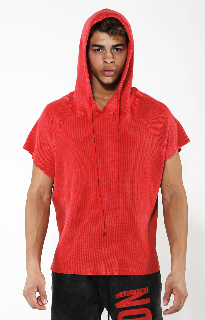 Red Thermo Hoodie - Hoodie