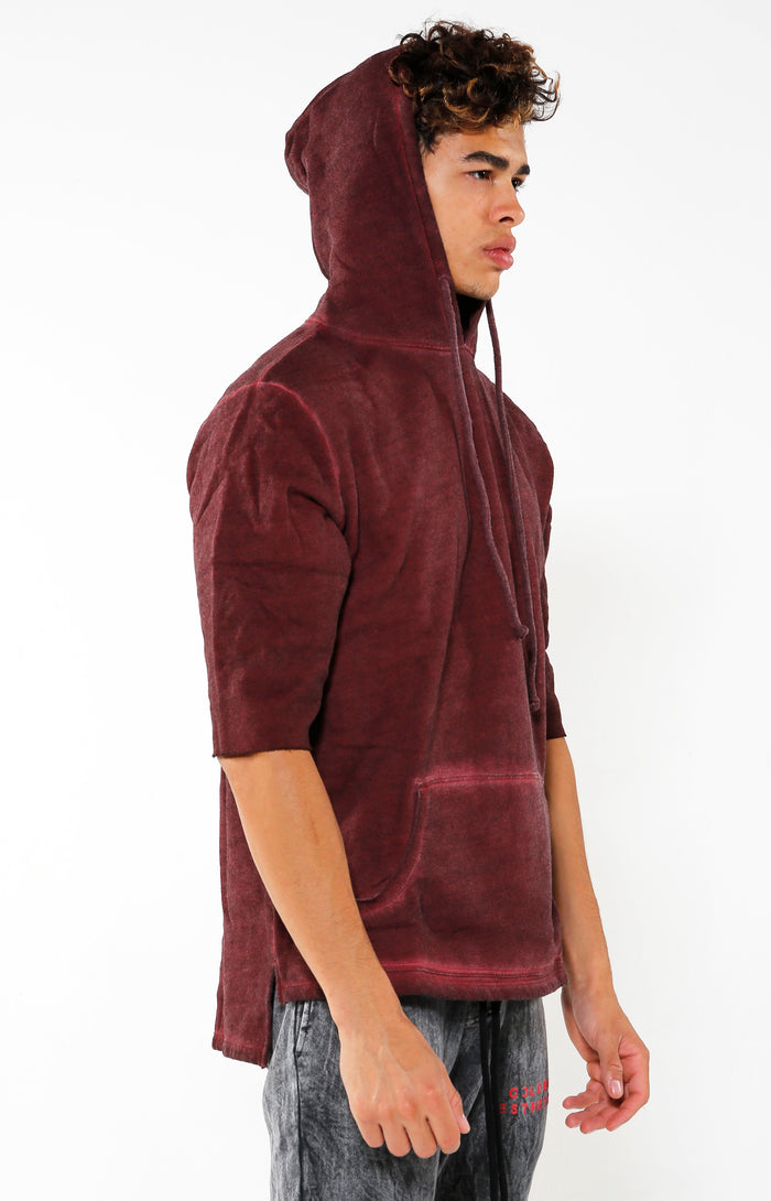 VIP Exclusive - Raglan Hoodie - Maroon - Golden Aesthetics