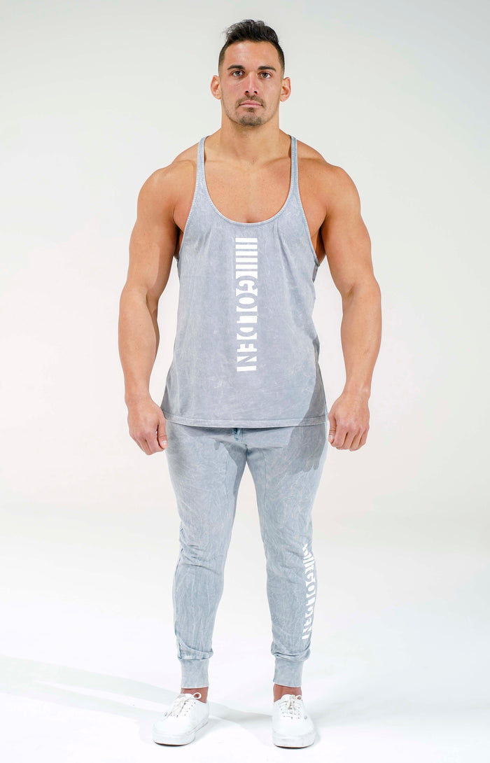Cool Grey Stripe Stringer