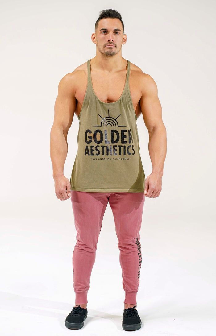 Army Green Sunrise Stringer