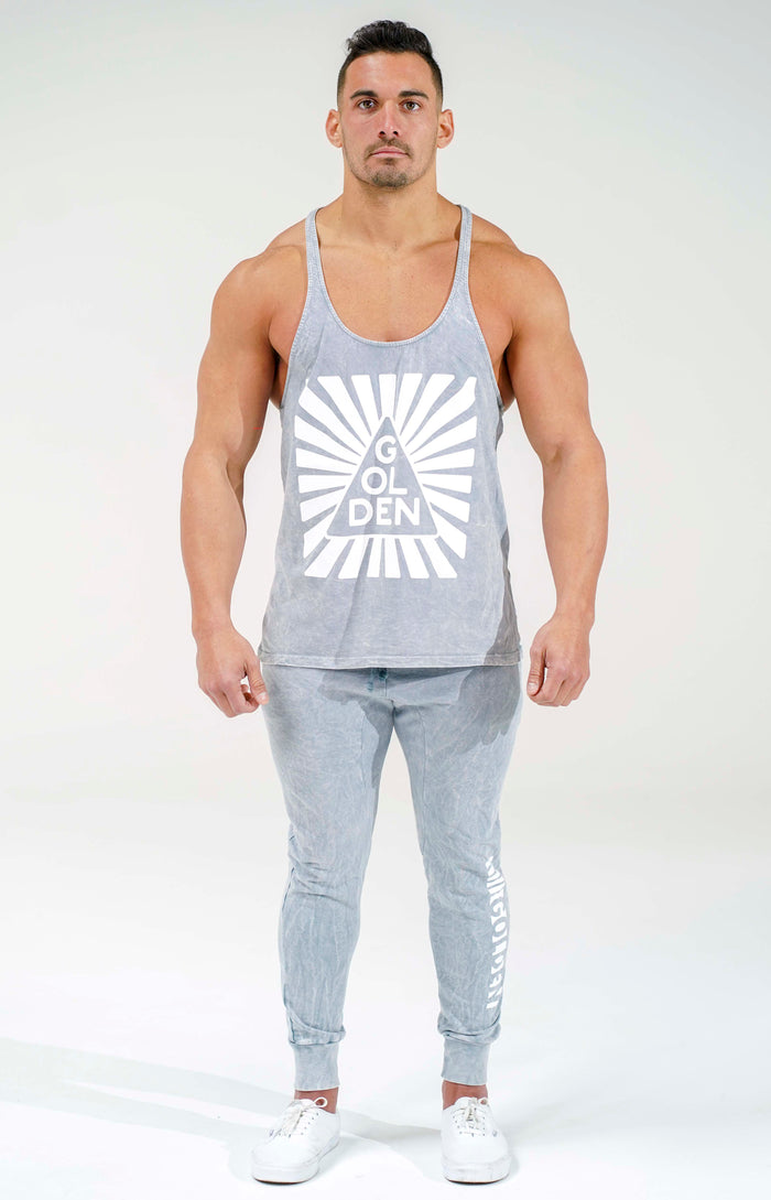 Cool Grey Infinity Stringer