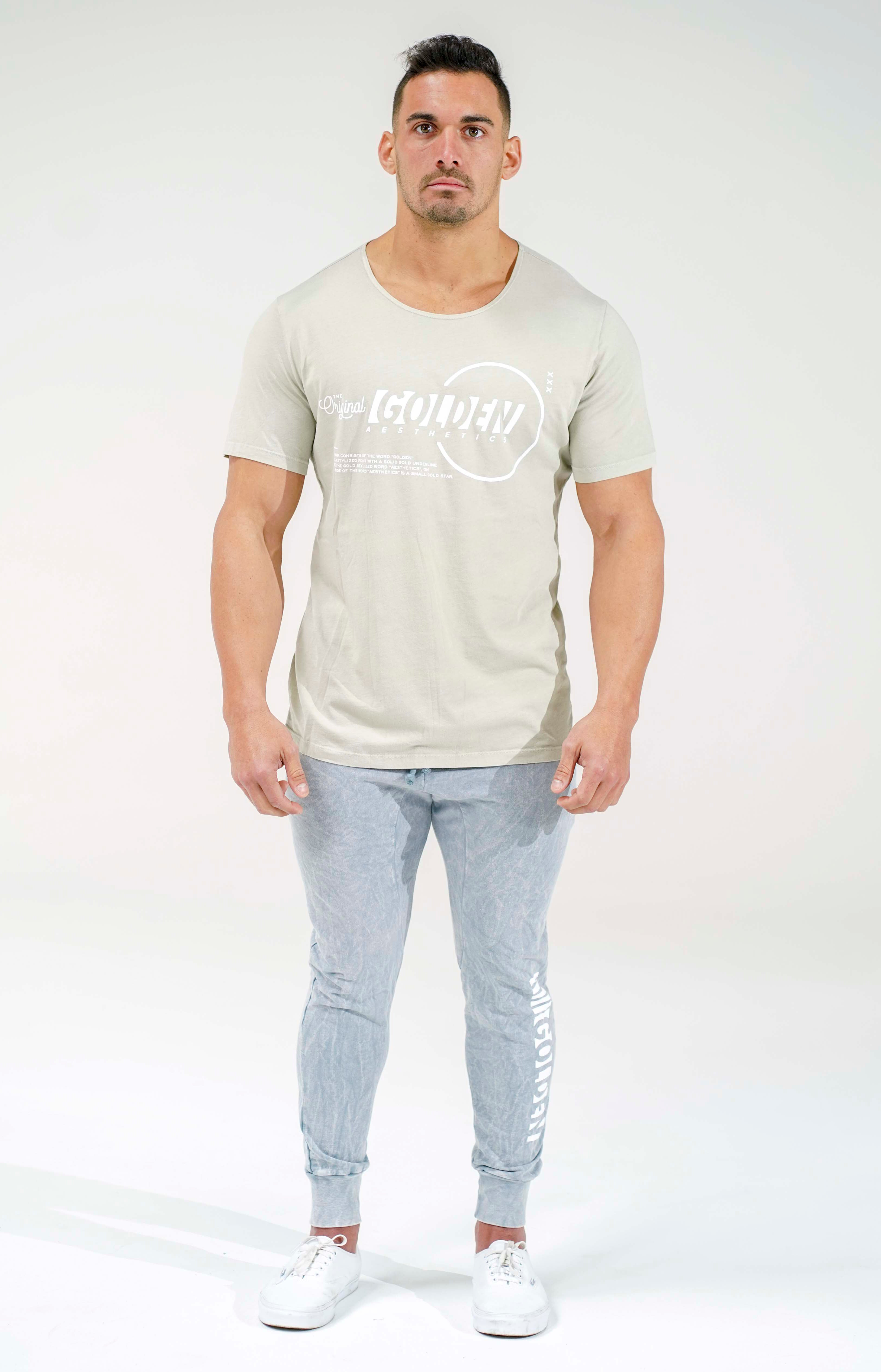 Faded Lime Original Scoop Neck T-Shirt