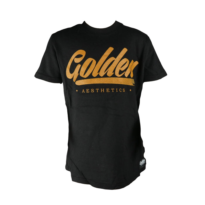 Kid's Collection T-Shirt - Charcoal Black - Golden Aesthetics
