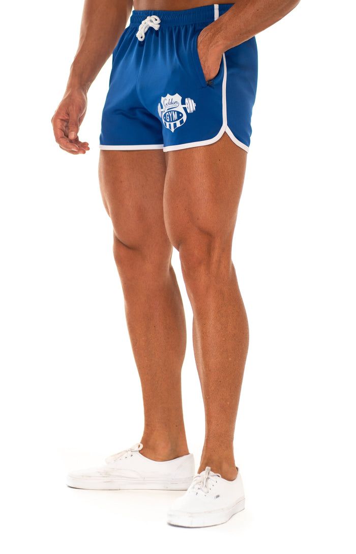 Blue 70s Shorts