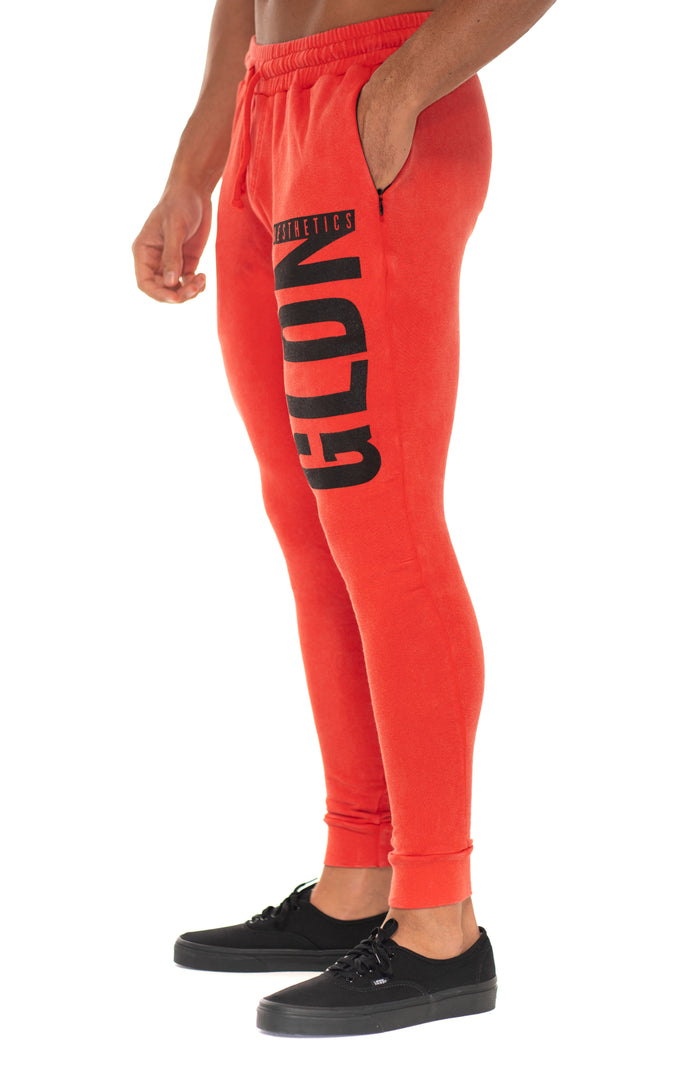 Red Mineral GLDN Joggers