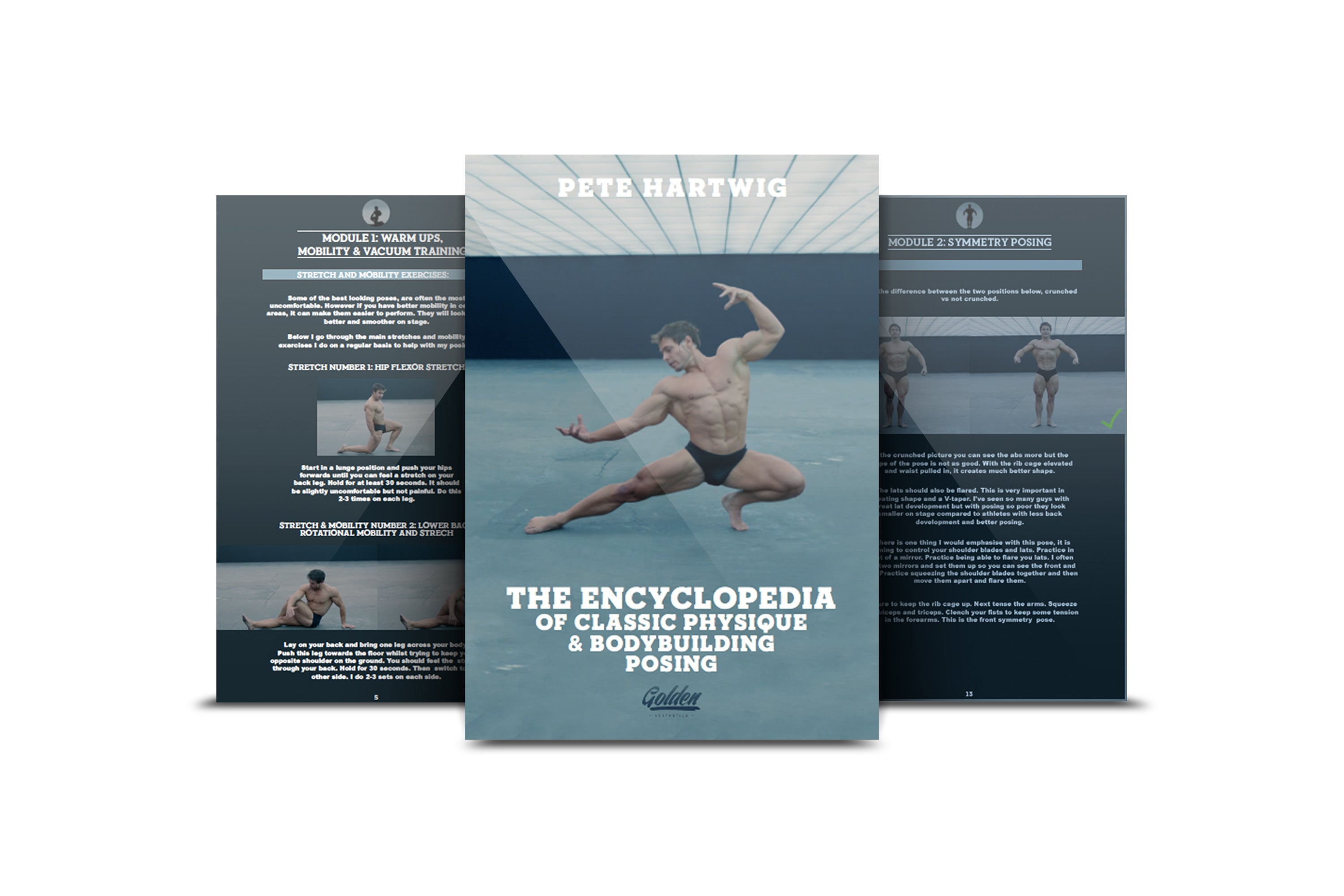 The Encyclopedia of Classic Physique & Bodybuilding Posing - eBook - Golden Aesthetics