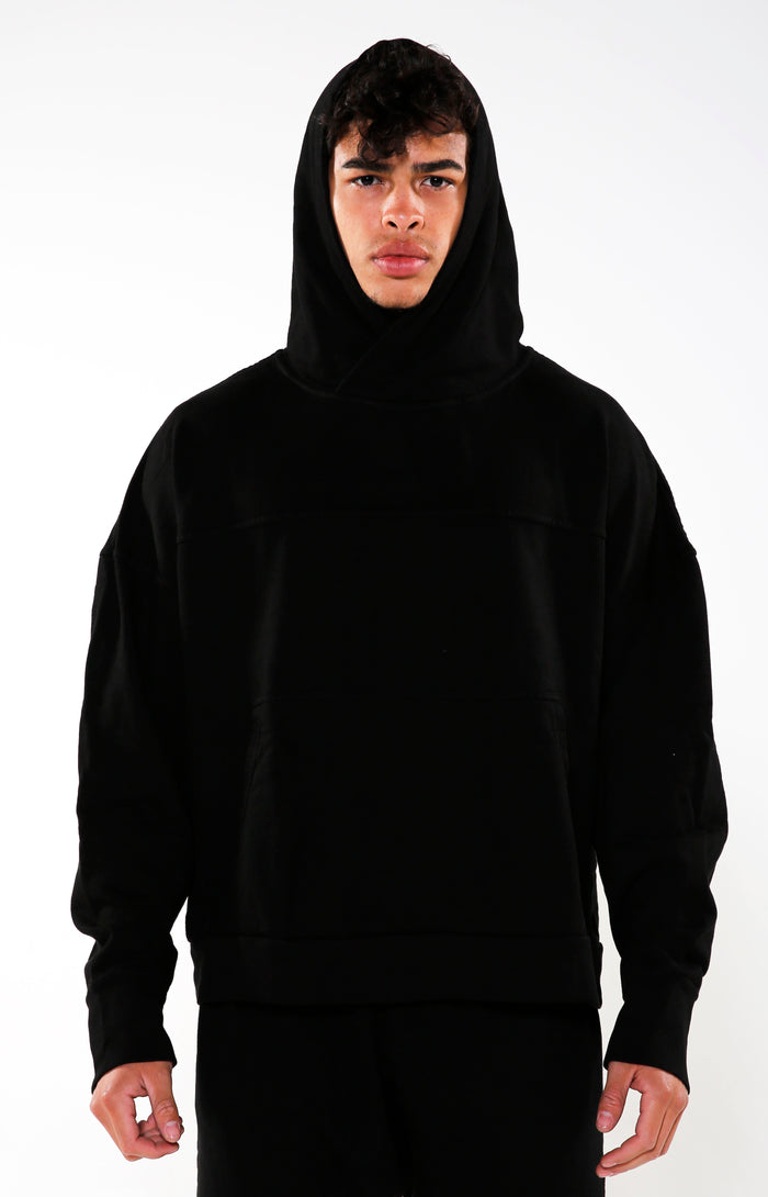 Men's Black Life Sentence Hoodie | Golden Aesthetics - Golden Aesthetics