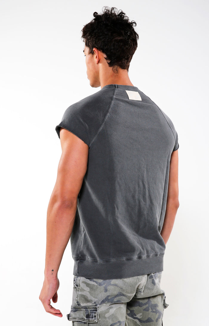Men's Faded Black Reg Park Top | Golden Aesthetics - Golden Aesthetics