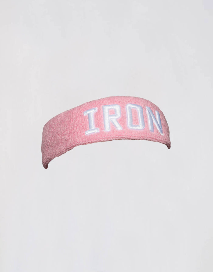 IRON Headband - Pink - Golden Aesthetics