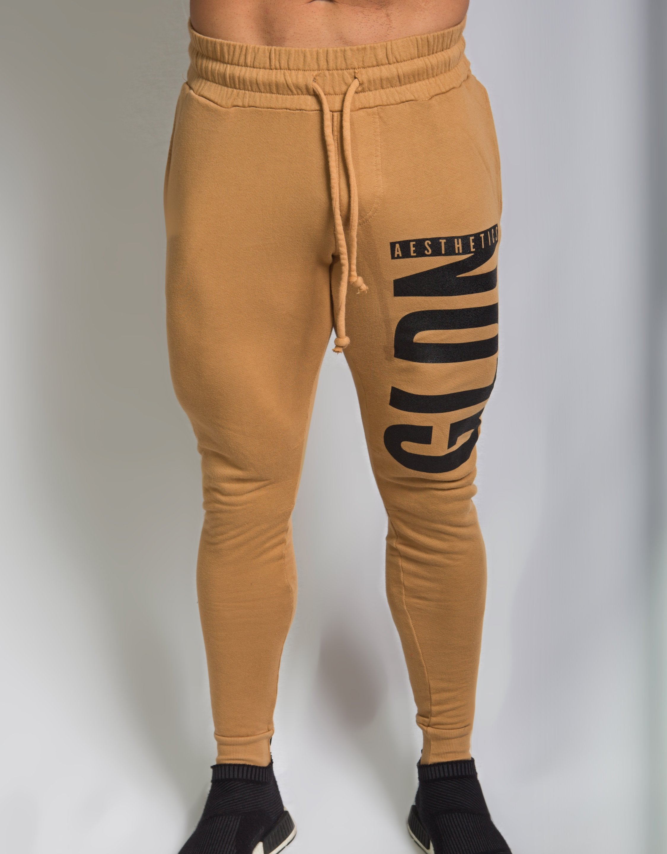 Tapered GA Joggers - Taupe