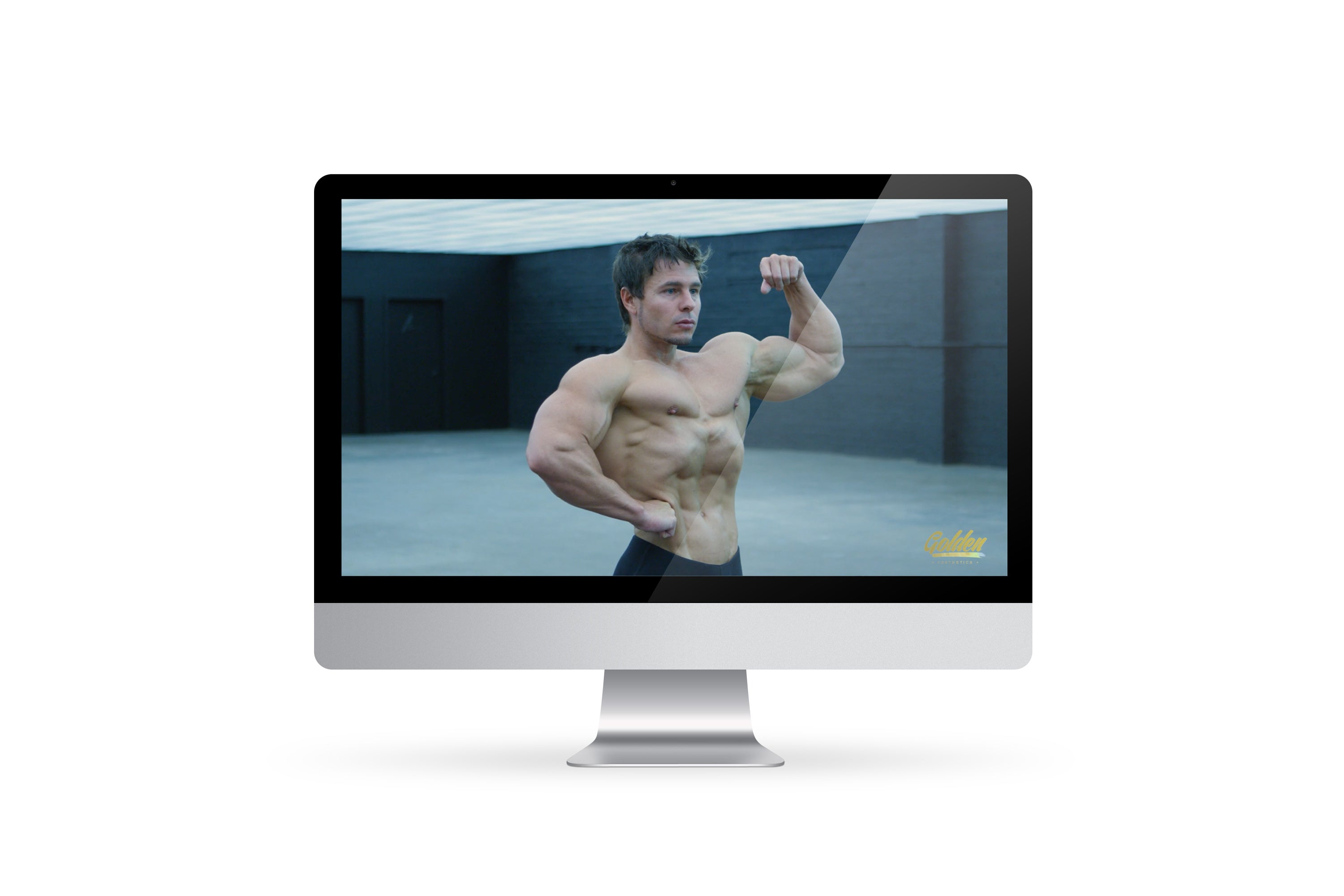 The Encyclopedia of Classic Physique & Bodybuilding Posing - Video Guide - Golden Aesthetics
