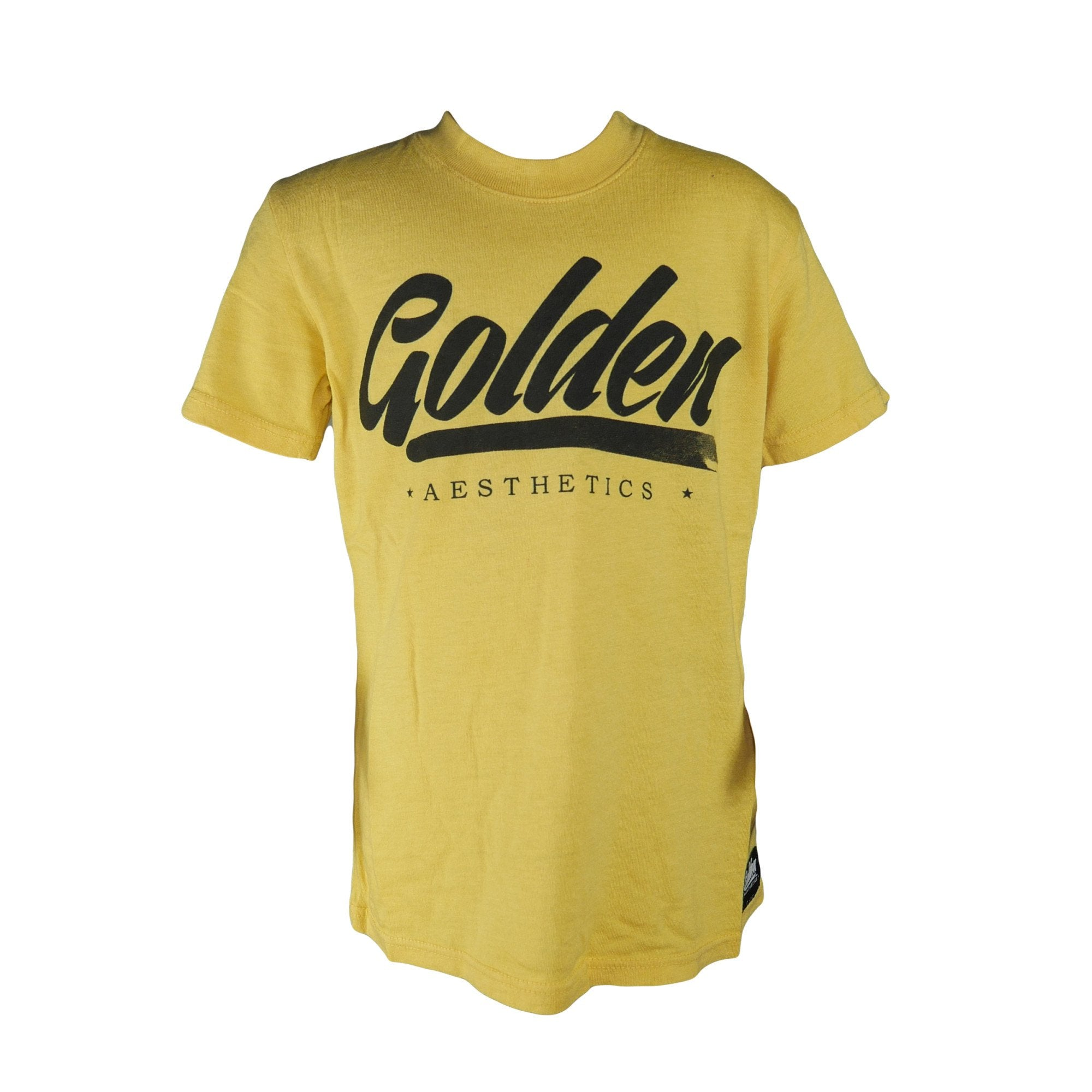 Kid's Collection T-Shirt - Yellow - Golden Aesthetics