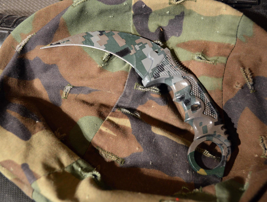 Forest DDPAT Small Karambit