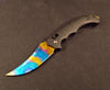 Case Hardened Flip Knife