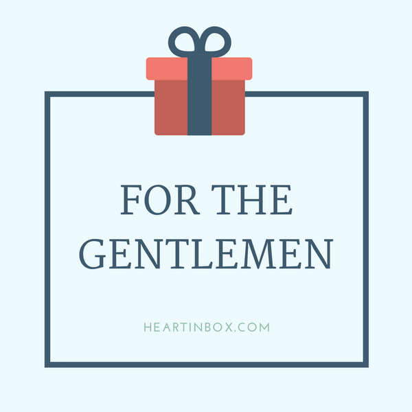 For the gentlemen!