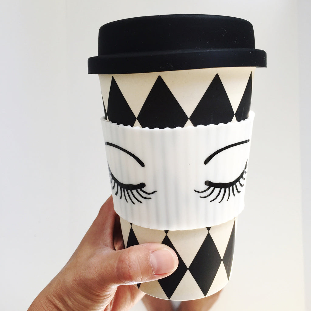Eyes Closed Travel Mug