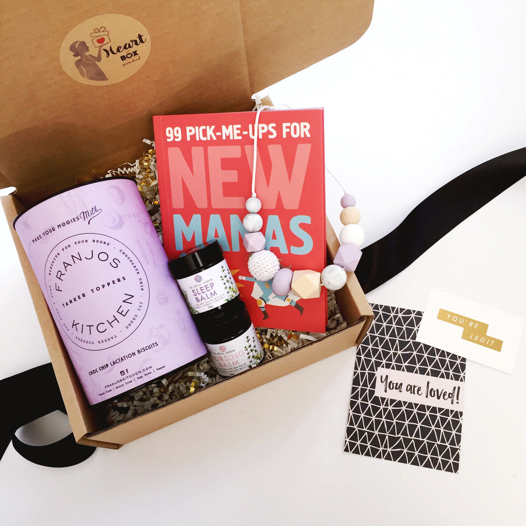 New Mama Heart Box