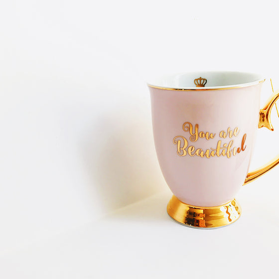 You are Beautiful Fine Porcelain Mug